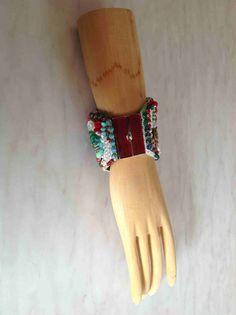 eine wunderschöne Schließe zum Perlenarmband - designt von Anke Weidner
