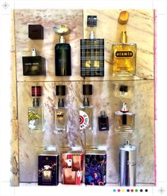 Small collection of  #fragrances