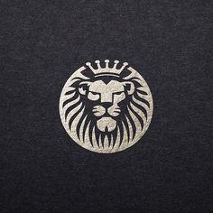 Lion Logo Design Concept ☆★☆ We offer professional, unique and creative logo designs. For more details PM us. Logo Lion, Tiger Logo, Logo Branding, Branding Design, Lion Icon, Money Logo, Royal Logo, Lion Design, Lion Art