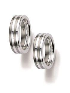 Βέρες Γάμου BRUNO BANANI Ασημένιες 925 Αναφορά 014109 Ζευγάρι βέρες γάμου από ανοξείδωτο ατσάλι και Ασήμι 925 σε λευκό και γκρι χρώμα. Το φάρδος της κάθε βέρας είναι 6mm. Το μέγεθος προσαρμόζεται ανάλογα με τις ανάγκες του πελάτη. Η τιμή αφορά το ζευγάρι βέρες. Bruno Banani, Wedding Rings, Engagement Rings, Jewelry, Enagement Rings, Jewlery, Jewerly, Schmuck, Jewels