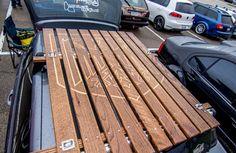 Hand Carved Wolfsburgs' German Eagle Roof Rack For VW Golf/GTI MK5 & MK6