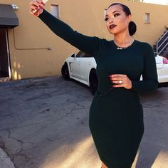 """322 Gostos, 3 Comentários - Heather Sanders (@_heather_sanders_) no Instagram: """"@heathersanders_ """" Heather Sanders, Fall Outfits, Cute Outfits, Classy Casual, Dressed To Kill, Queen, Classy Women, Fashion Plates, Dress Me Up"""