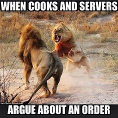 36 Restaurant Jokes Only Service Industry Workers Understand Server Quotes, Server Memes, Server Humor, Waitress Humor, Waitress Problems, Work Jokes, Work Humor, Restaurant Memes, Server Problems