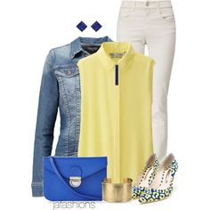 Untitled #3185 by jafashions on Polyvore featuring moda, Uniqlo, TWINTIP, Armani Jeans, Sophia Webster, Express, Blue Nile and ADORNIA