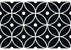 V2-285,carreaux de ciment contemporain