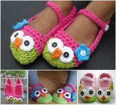 Crochet-Mary-Jane-Owl-Slippers DIY F