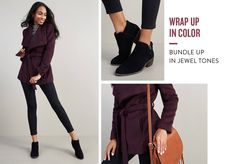 LOVE this coat!  Gorgeous color and wrap style.  Please send me in my next fix