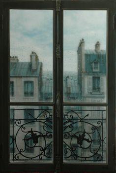 ...Paris i regn
