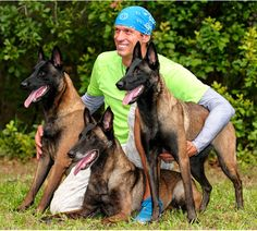Ivan Balabanov and his Belgian Malinois. He is an amazing Malinois trainer!