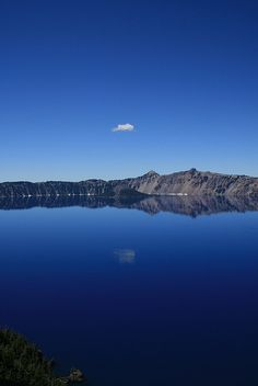 Crater Lake, Oregon--- because I want a National Park stamp from here!!