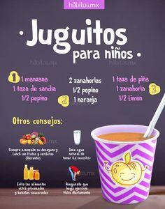 sucs de fruita i verdures per a infants Healthy Juices, Healthy Drinks, Healthy Snacks, Healthy Recipes, Healthy Detox, Diet Drinks, Milk Shakes, Juice Smoothie, Smoothies