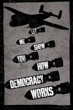 Poster LET ME SHOW YOU HOW DEMOCRACY WORKS su Europosters.it