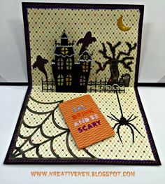Ken's Kreations : ARTFULLY SENT HALLOWEEN CARD