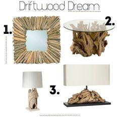 Driftwood Dream #DIY ideas, #driftwood for the home