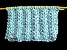 Cómo Tejer Bufanda para Invierno-Knit a Scarf-2 Agujas (274) - YouTube