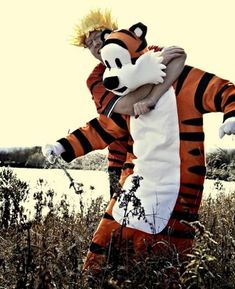 Calvin and Hobbes - Let's go exploring! (Tons o' pics) - CRAFTSTER CRAFT CHALLENGES