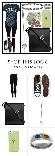 """""""✨Pvris Concert (2/23/18)"""" by haunted-human ❤ liked on Polyvore featuring Converse, Hidesign, WithChic and Carolina Glamour Collection"""