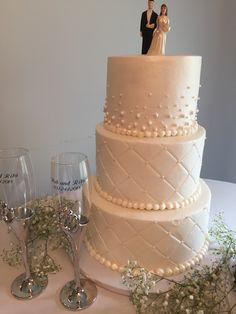 Wedding cake designed for Rita & Rob