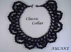 "Beaded ""Classic collar"""