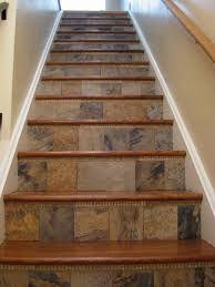 """tiled """"rise."""" carpet on tread"""