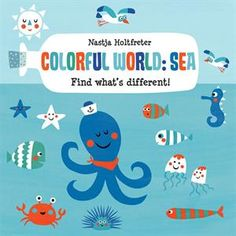 Something isn't right here – strange creatures are appearing in the sea! Are they all seahorses? Which bird is not a pelican? Explore the colorful sea and find the differences!