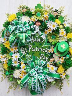 St. Patricks day wreath