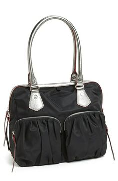 The MZ Wallace Jane Black Bedford Bag seen on Kristin Cavalleri Available at Nordstrom here:http://rstyle.me/n/fftntmnje