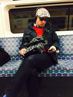 When I get on the subway, all I find are crumpled newspapers and…