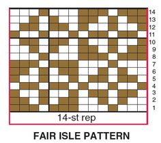 Fair Isle Cowl - Free Knitting Patterns - Shrug & Shawl