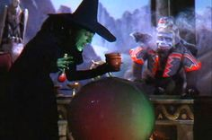 """The Wicked Witch's crystal ball was used as a prop in Boris Karloff's """"The Mask of Fu Manchu"""""""