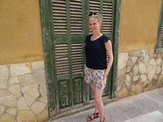 outfit Mallorca short top sandals bregblogt.nl