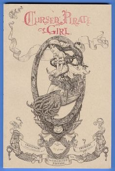 Cursed Pirate Girl the Collected Edition Challengers Cover (limited to 100)