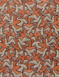 M+C+Escher+Tessellations   About » tnl wall mc escher birds tessellations 885378