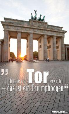 Wie Reisende im Internet Top-Attraktionen bewerten, z. B. das Brandenburger Tor in Berlin