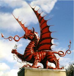 Mametz Wood Memorial - commemorating an engagement of the 38th (Welsh) Division of the British Army during the First Battle of the Somme in France in 1916.