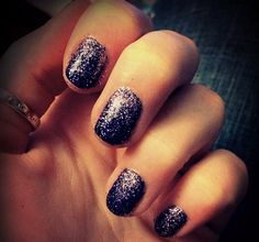 The Everything Blog- Glitter Nail Ombre tips and tricks