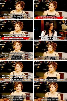 This woman right here. She is the definition of a good person. Sophia is beautiful from the inside out!