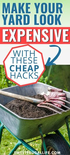 8 Cheap Ways To Update Your Yard - Sweet Frugal Life Home Landscaping, Front Yard Landscaping, Fire Pit Uses, Outdoor Projects, Diy Projects, Outdoor Ideas, Outdoor Decor, Desert Climate, Have Time