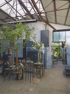 Claire Basler's magical studio and home outside paris.