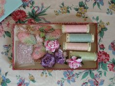 Lobster and Swan Sewing Supplies | Flickr