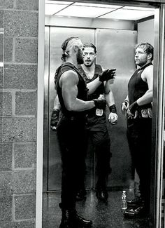 | Seth Rollins, Roman Reigns, and Dean Ambrose | The Shield |