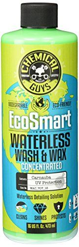 Chemical Guys WAC_707_16 EcoSmart  Hyper Concentrated Waterless Car Wash  Wax 16 oz *** Want additional info? Click on the image.