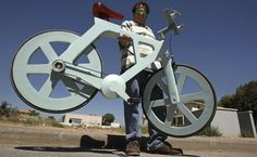 Cardboard bicycle can change the world, says Israeli inventor | Israel | Jewish Journal