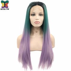 Kanekalon Bob Style Afircan American Hair Synthetic None-lacewigs Symbol Of The Brand Alileader Two Tones Ombre Wig 14 Short Silky Straight Synthetic Hair Wig For Women