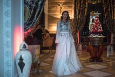 Fashion Tea Time at Royal Mansour with Sara Chraibi and a glimpse of our magical Christmas decorations! #fashion #teatime #royalmansour #marrakech #morocco #christmas
