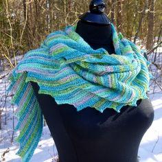 Crochet by Darleen Hopkins -  - Whispers Shawlette - Crochet