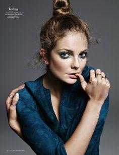 Eniko Mihalik by Alique for Vogue Netherlands March 2014