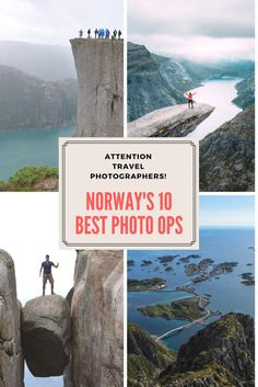Is Norway the world's most photogenic country? Here are the 10 best travel photo opportunities in Norway, perfect for Instagram, YouTube and Facebook!