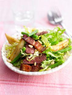 Salade périgourdine : la recette facile