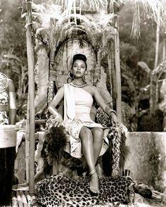 Dorothy Dandridge in Tarzan's Peril (RKO, 1951)